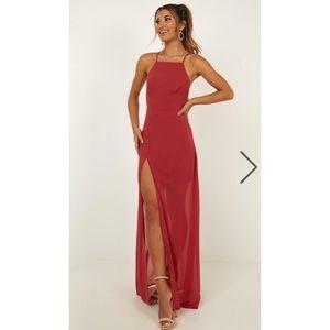 Showpo Night About You Dress Size 4